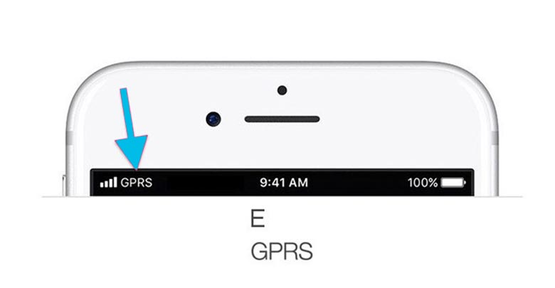 Biểu tượng PRS/E trên IOS