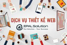Photo of Dịch Vụ Thiết Kế Website Của EPAL Solution