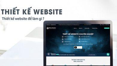 Photo of Thiết Kế Website Để Làm Gì? Vì Sao Doanh Nghiệp Cần Thiết Kế Web