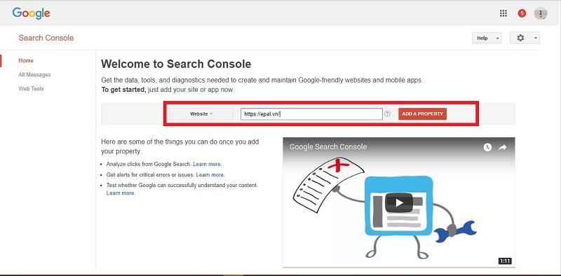 Google Wabmaster Toll Là Gì? Cách Đăng Ký Sử Dụng Công Cụ Google Webmaster