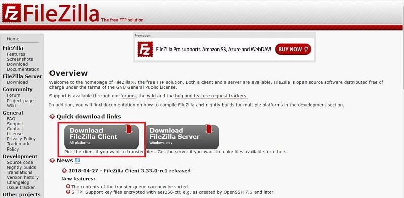 Hướng Dẫn Cài Đặt Phần Mềm FileZilla