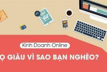 Kinh Doanh Online – Họ Giàu Vì Sao Ta Nghèo?