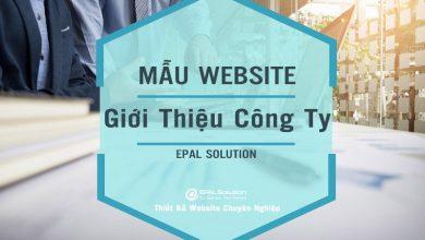 Photo of Mẫu Website Giới Thiệu Doanh Nghiệp Đẹp, Chuyên Nghiệp