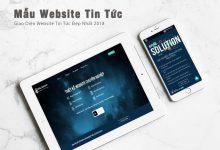 Photo of Mẫu Website Tin Tức, Tạp Chí Đẹp Nhất Năm 2018
