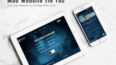 Mẫu Website Tin Tức, Tạp Chí Đẹp Nhất Năm 2018