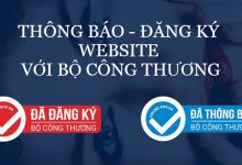 Photo of Hướng Dẫn Thông Báo Website Với Bộ Công Thương