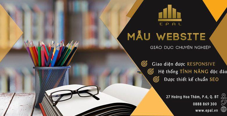 Mau Website Giao Duc Dep