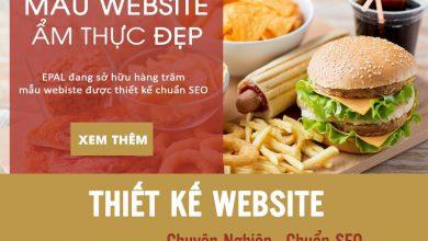 Photo of Top 3 Mẫu Website Ẩm Thực Đẹp Và Chuyên Nghiệp