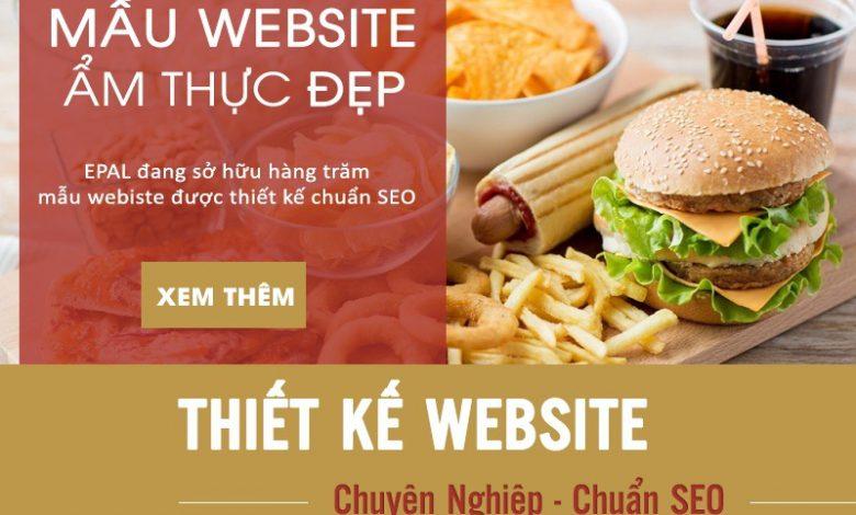 Top 3 Mẫu Website Ẩm Thực Đẹp Và Chuyên Nghiệp