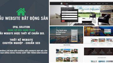 Photo of Mẫu Website Bất Động Sản Đẹp Và Chuyên Nghiệp