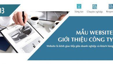 Photo of Tổng Hợp Các Mẫu Website Công Ty Đẹp Nhất Năm 2018