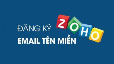 Photo of Tạo Email Tên Miền Riêng Miễn Phí Với Zoho Mail