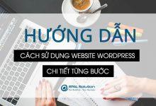Photo of Hướng Dẫn Sử Dụng Website Wordpress