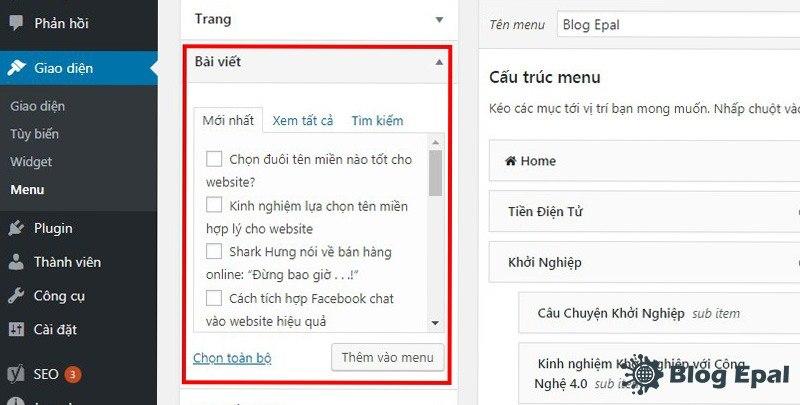 Huong-dan-tao-va-chinh-sua-menu-trong-website-wordpress-6