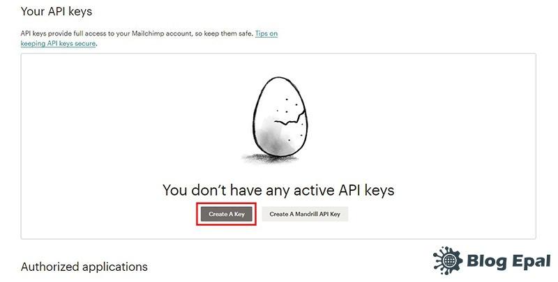 Tạo API mailchimp