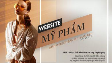 Photo of Thiết Kế Website Bán Mỹ Phẩm Đẹp