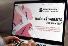 Photo of Thiết Kế Website Bao Nhiêu Tiền Là Hợp Lý
