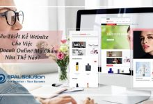 Photo of Nên Thiết Kế Website Bán  Mỹ Phẩm Online Như Thế Nào?