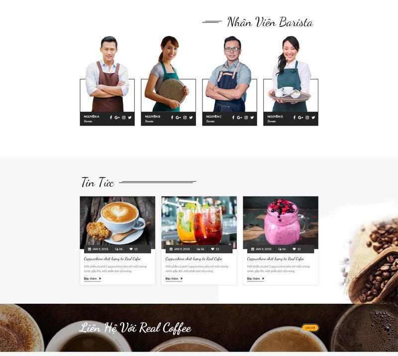 Thiết kế website cửa hàng cà phê đem đến lợi ích gì