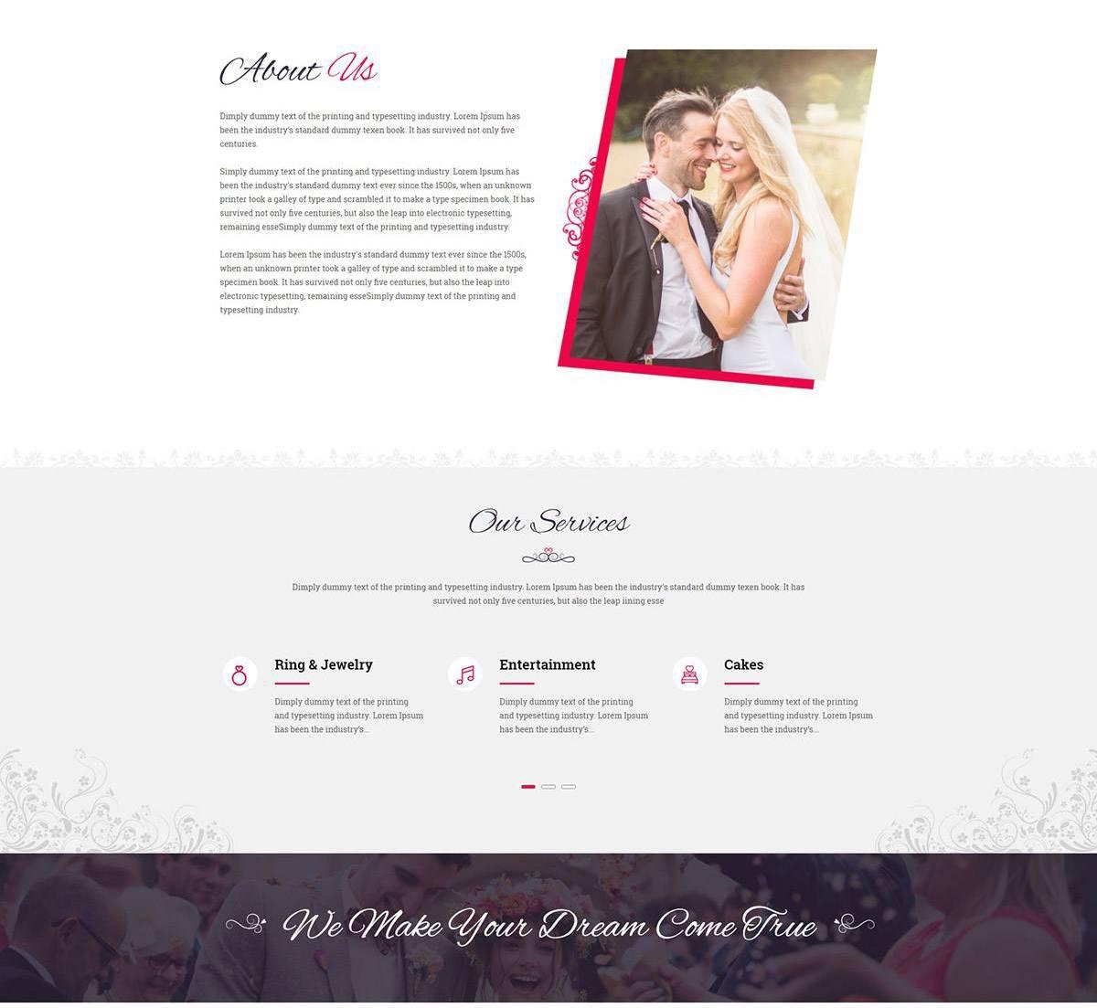 Thiết kế website wedding tại đâu uy tín, chất lượng