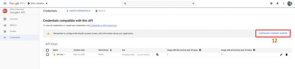 Cấu Hình Oauth Consetn Screen Google API