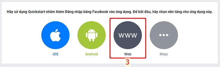 Chọn nền tảng web cho ứng dụng